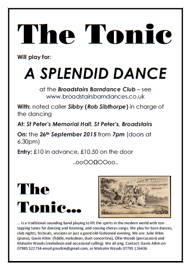 The Tonic flyer