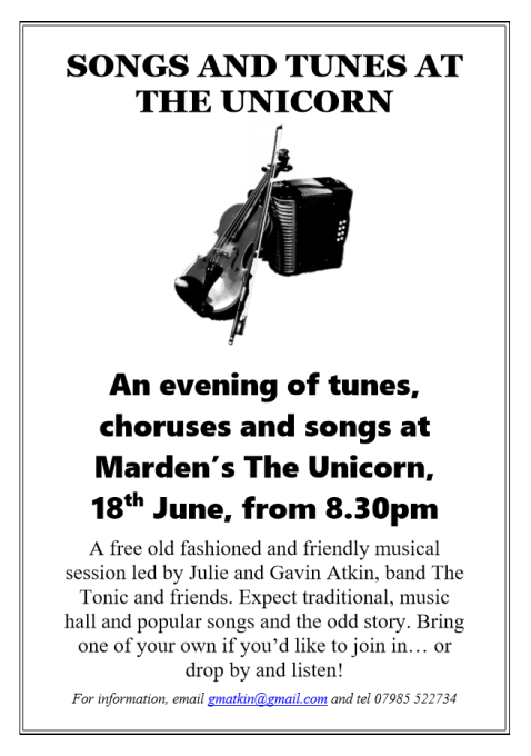 Unicorn session 18th June 480